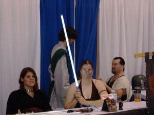Amateur Jedi Booth