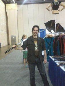 Chris and Sword