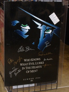 Signed Shadow Poster