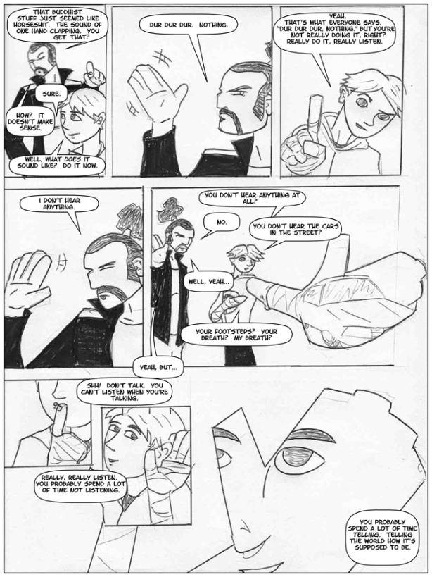 Hand of Danger page 9