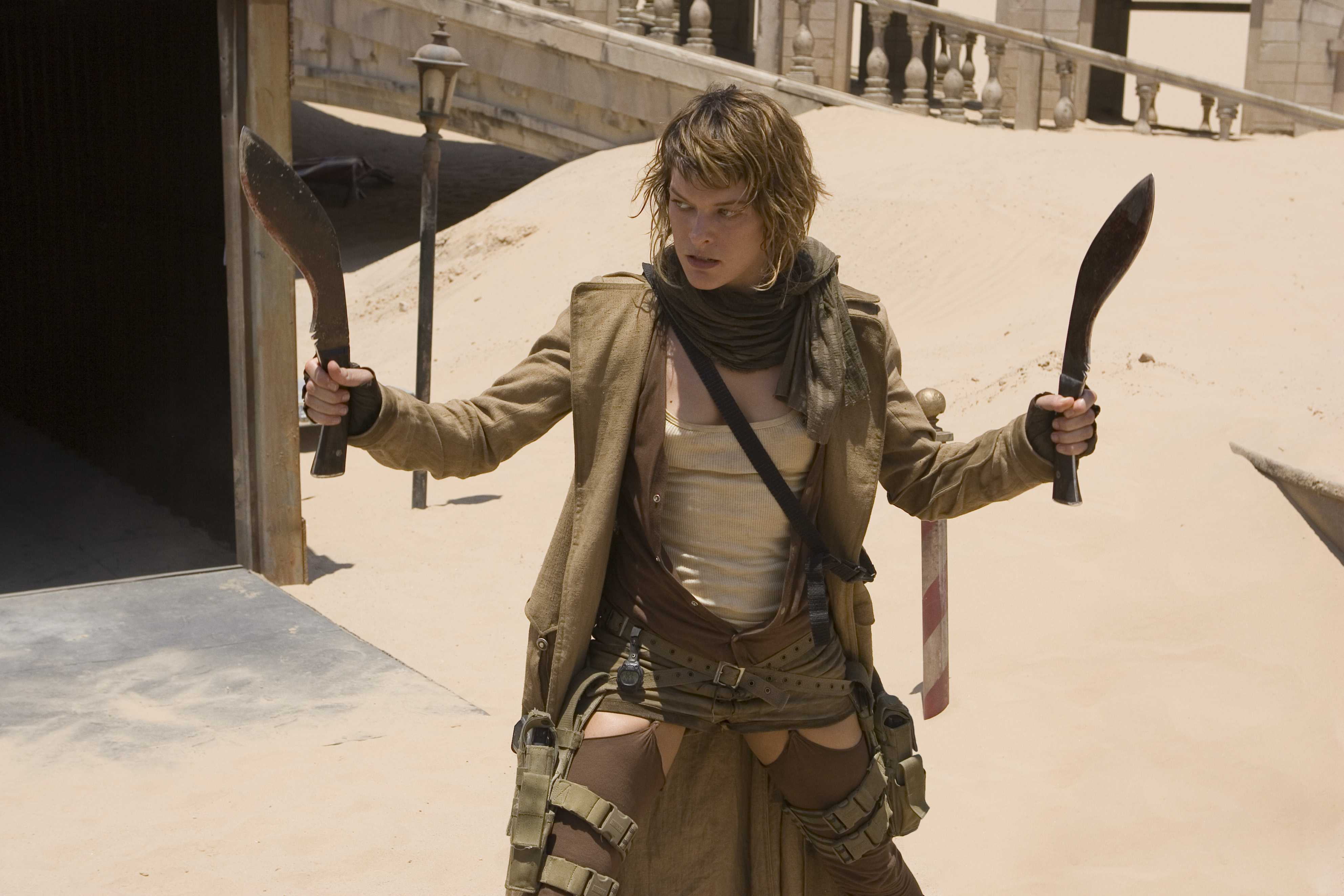 10 Reasons to Love the... Milla Jovovich Resident Evil 4