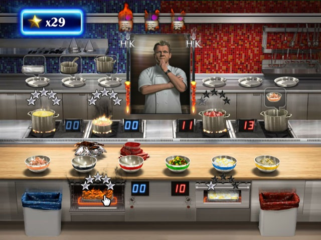 Kitchen From Hell Game
