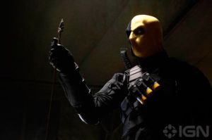 Pictured: Deathstroke, but not the one you're thinking of
