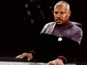 """Hi, I'm Avery Brooks. That picture of Patrick Stewart did make me feel a little better, truthfully."""