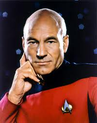 """Hello. I'm Patrick Stewart, and this picture of me has just made your day slightly more pleasant. You're welcome."""