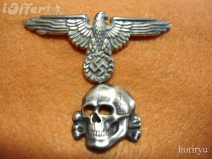 waffen-ss-eagle-skull-insignia-silver-bunt-metal-b116